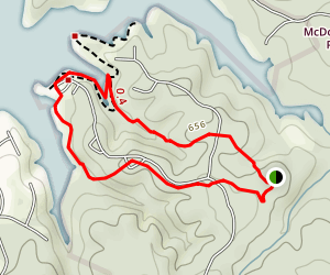 McDowell Plantation Loop Map