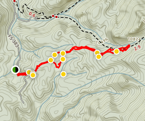 Ridge Line to Devil's Playground Trail Map