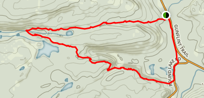 Centennial Hiking Trail Map