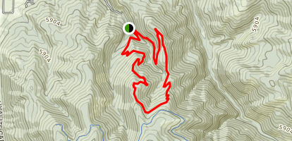 Leverich Canyon Trail Map