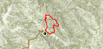 Frog Lake, Middle Ridge and Fish Trail Loop Map