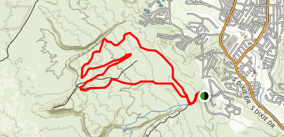 Green Valley Loop Map