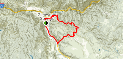 Forest Hollow and Boy Scout Loop Trail Map