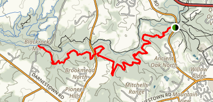 Seneca Ridge Trail Map