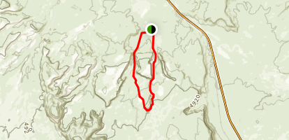 Monitor Merrimac Mountain Bike Trail Map