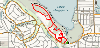 Center Loop Trail Map