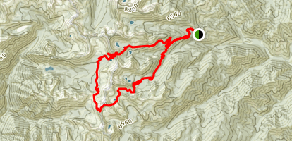 Angels Staircase Loop Trail Map