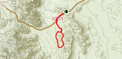 Badger Pass Loop Map