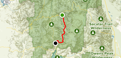 Cannell Trail to the Plunge Map