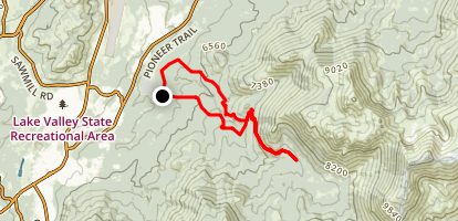 Corral Trail Loop Map