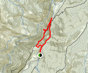 Cement Creek Map