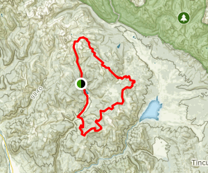Betty Lake to Star Trail to Gunnison Spur and Gandy Gulch Map