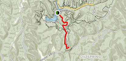 Walter Taite Trail Map
