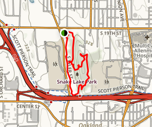 Snake Lake Loop Trail Map
