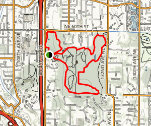 Raven and Coyote Trail Loop Map