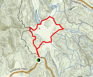 Big Laguna Lake Meadow Walk Map