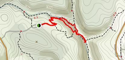 Upper Amud Stream Map