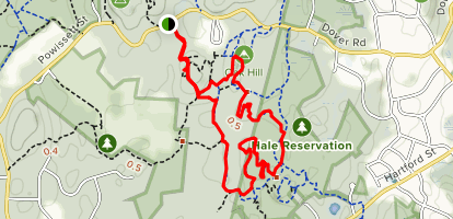 Oak Hill Loop Map