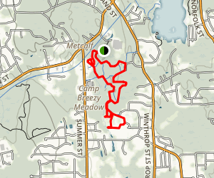 Wenakeening Woods and Idylbrook Loop Map