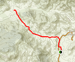 San Miguel to Kalu Yala Hike Map