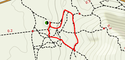 Turtleback and Arroyo Loop Map