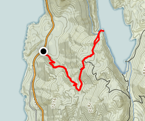 Marlette Lake Map