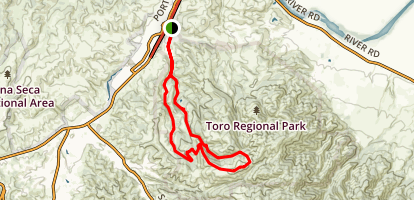 Pipeline Loop Trail Map