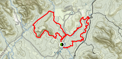 Chuckwagon, Mescal Mountain, and Long Canyon Loop Map