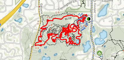 Lebanon Hills Map Lebanon Hills Mountain Bike Loop   Minnesota | AllTrails