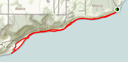 Vashon Beach Walk Map