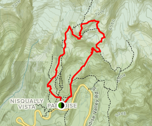 Deadhouse Creek Trail to Golden Gate Trail Loop Map