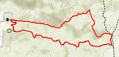 Table Mountain Loop Map
