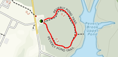 Peverly Pond Loop Map