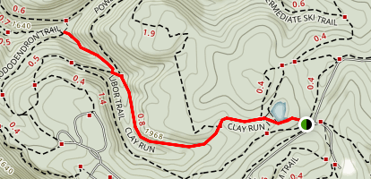 Clay Run Trail Map