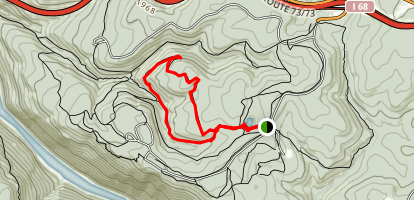Clay Run and Power Line Loop Map