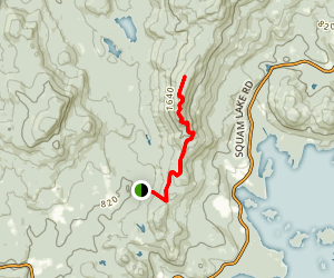 Mount Webster Map