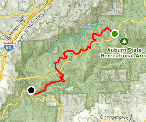 Connector Trail to Confluence Trail Map