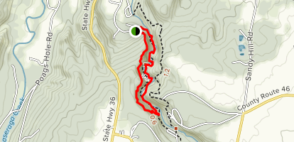 Gorge Trail Loop Map