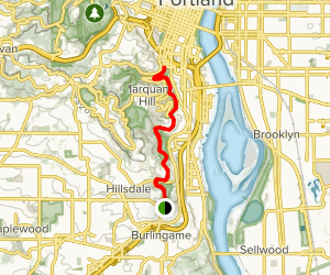 Terwilliger Trail Map