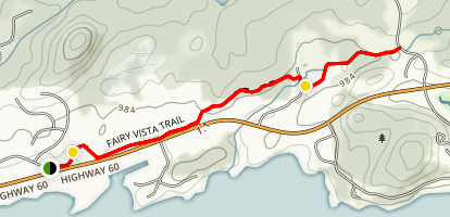 Fairy Vista Trail Map