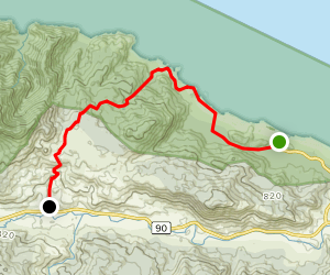 Tayrona National Park Trail Map
