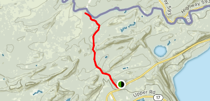 The Grand Portage Hiking Trail Map
