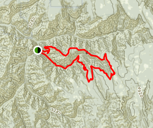 North Fork Umatilla Wilderness Loop Map