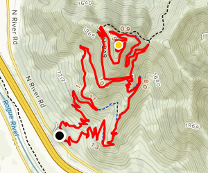 Mountain of the Rogue Loop Map