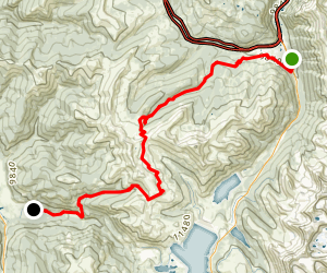 Colorado Trail: Copper Mountain to Searle Pass Map