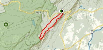 Trapps, Coxing and Millbrook Ridge Trail Loop Map