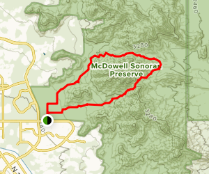 Bell Pass Trail to Windgate Pass Trail Loop Map