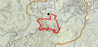 Wolverton-Quartz Loop Map