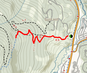 Gold Hill Map