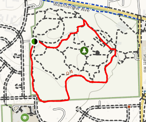 Fitness Loop Trail Map